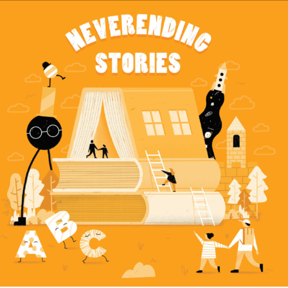 Logo for Never Ending Stories