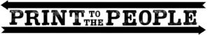 Print to the People Logo