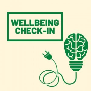 Wellbeing Check-in Logo